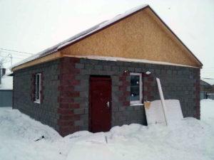 Готовый дом под ключ с черновой отделкой