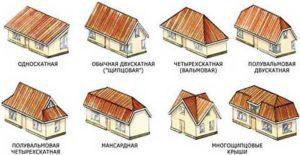 нужно определиться с типом двускатной крыши для мансарды